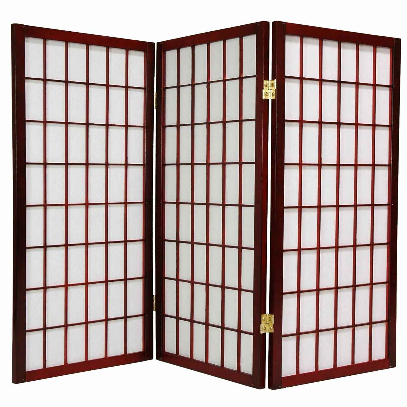 Japanese bamboo screen divider for home