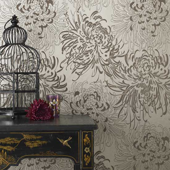 Ornamental Black and White Wallpapers