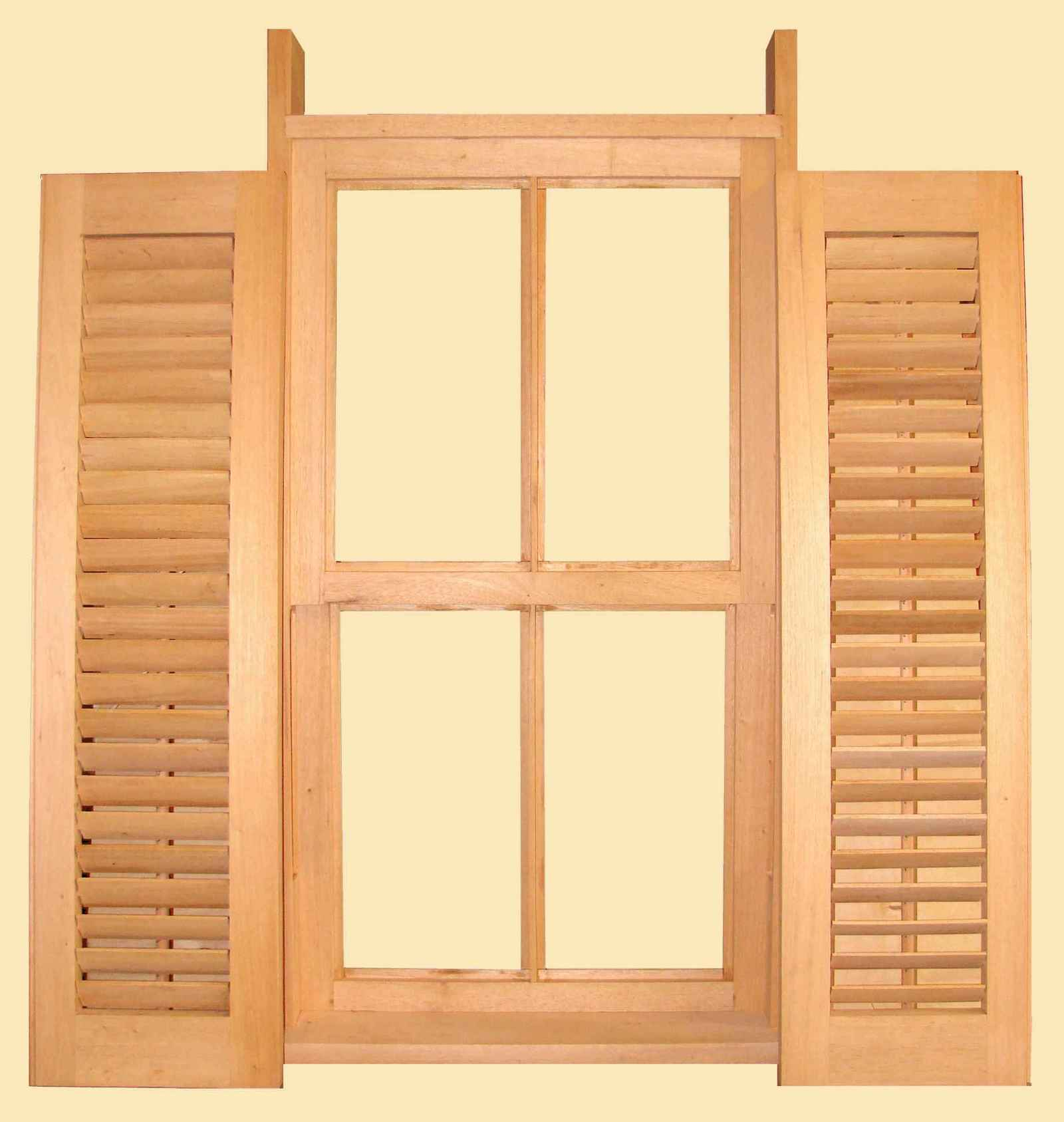 Solid Pine Window Frames for Outdoor