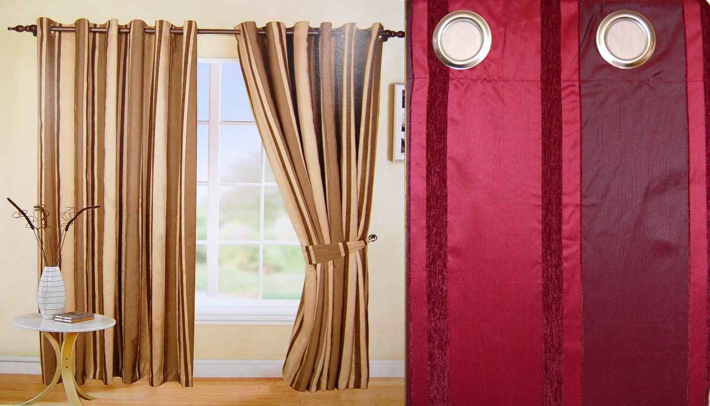 Stamford Elegant Door Curtains Ideas