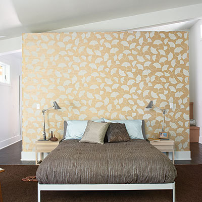 bedroom wallpaper for walls in spring pattern