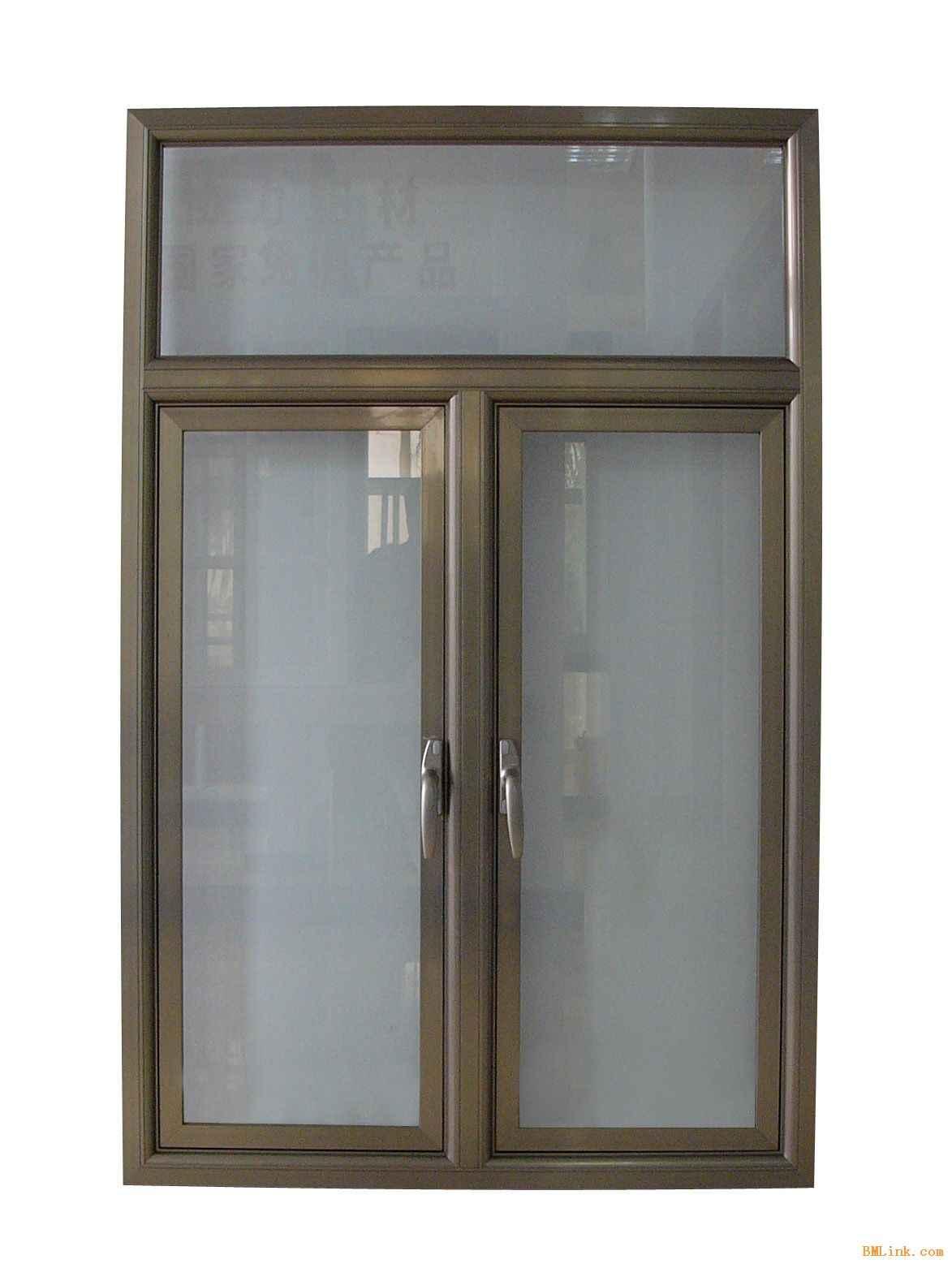 Aluminum Frech Swing Double Window