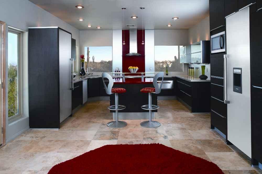 Contemporary home kitchen appliances