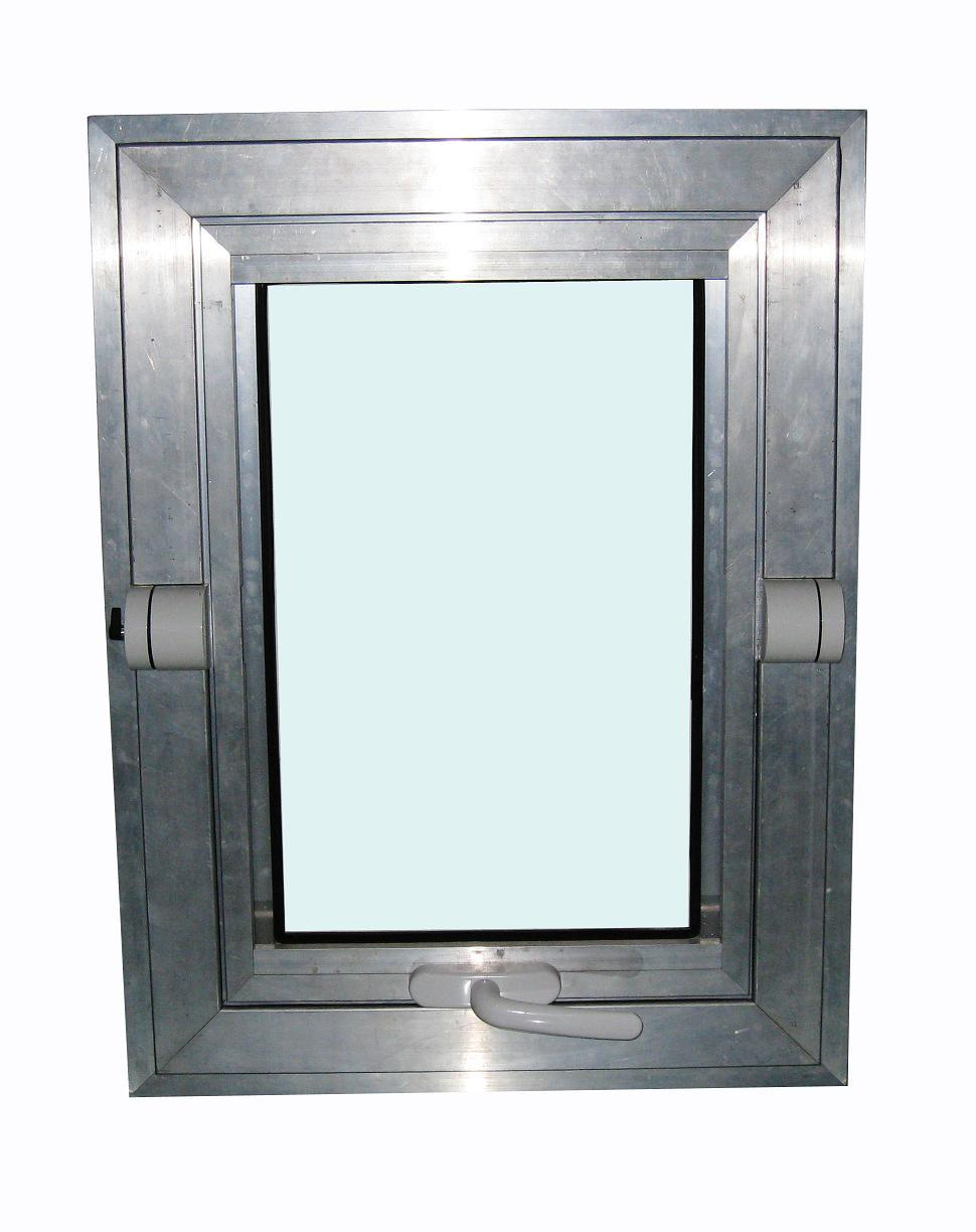 Frech Middle Hung Home Window in Aluminum