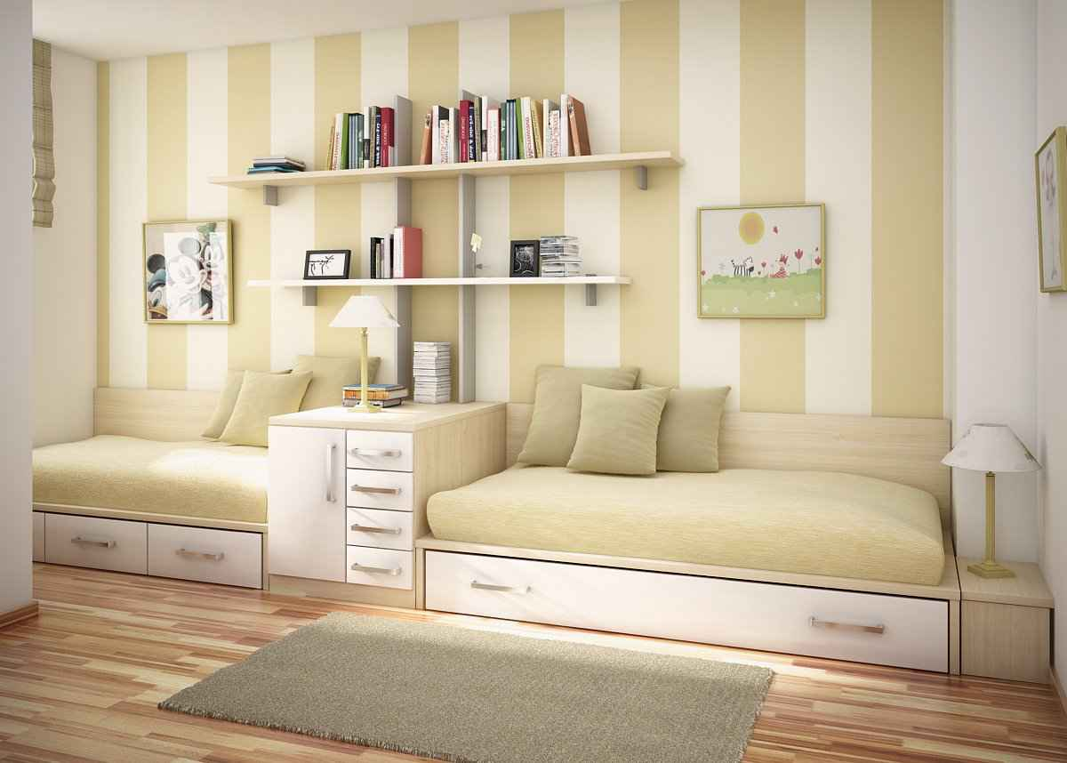 Modern Sofa Bedroom for Teen