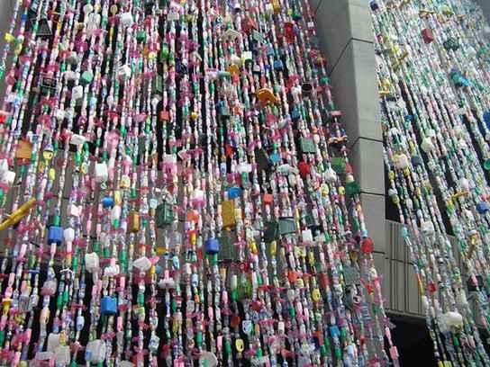 cool hippie door beads curtain