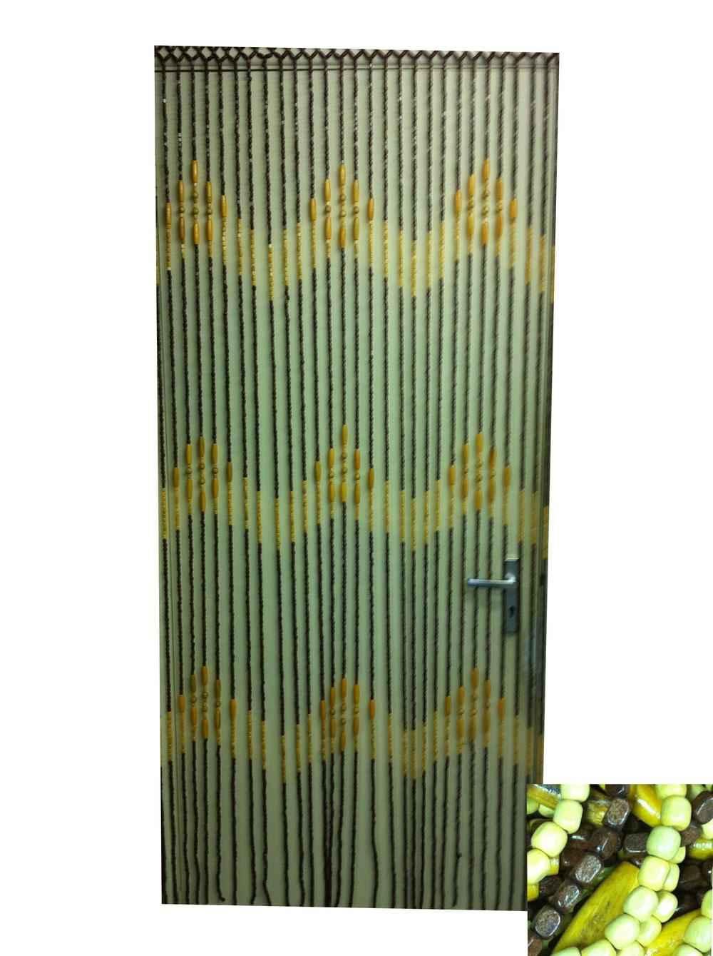 Bamboo Full Beaded Curtain for Door