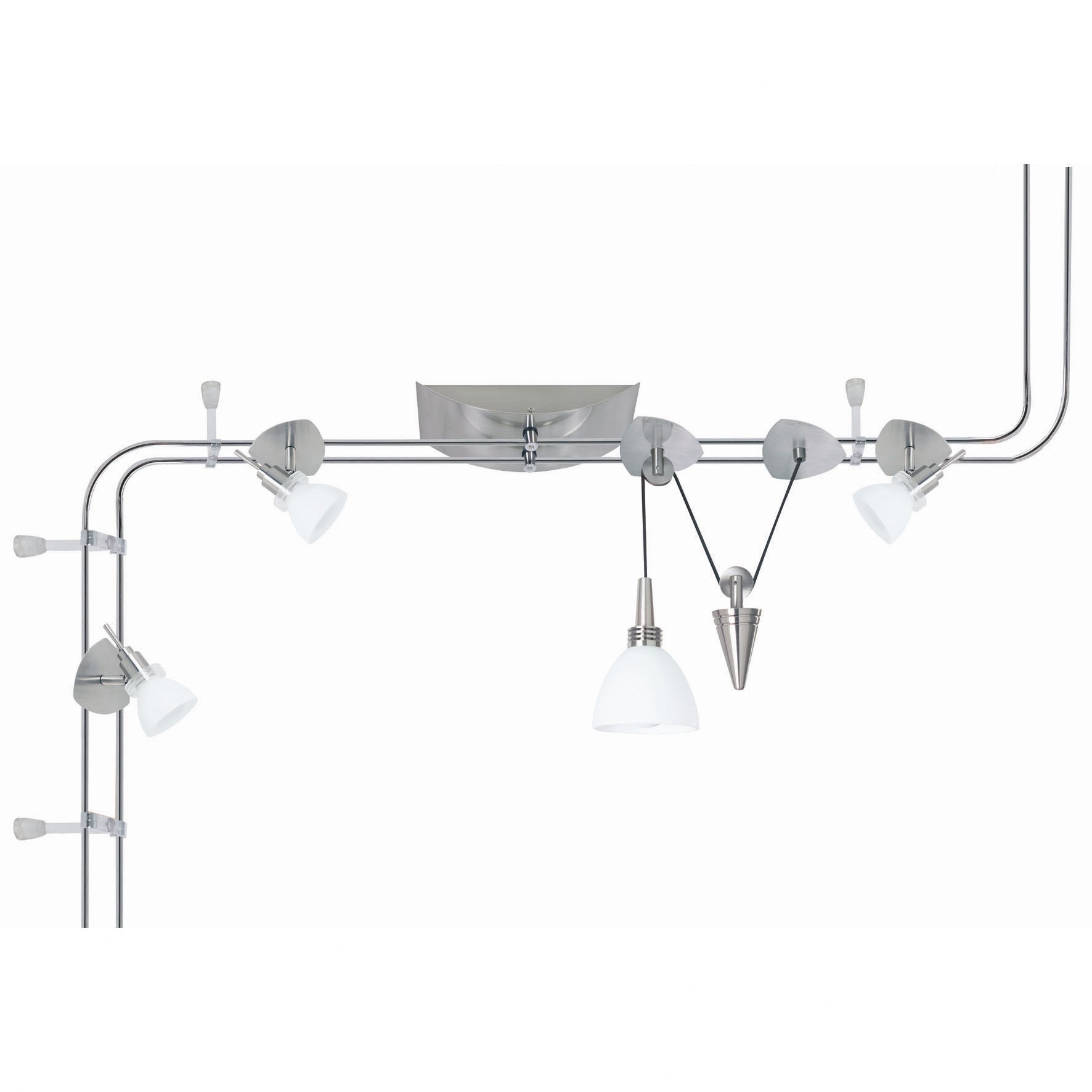 Verbier Iron Look Track Lighting System