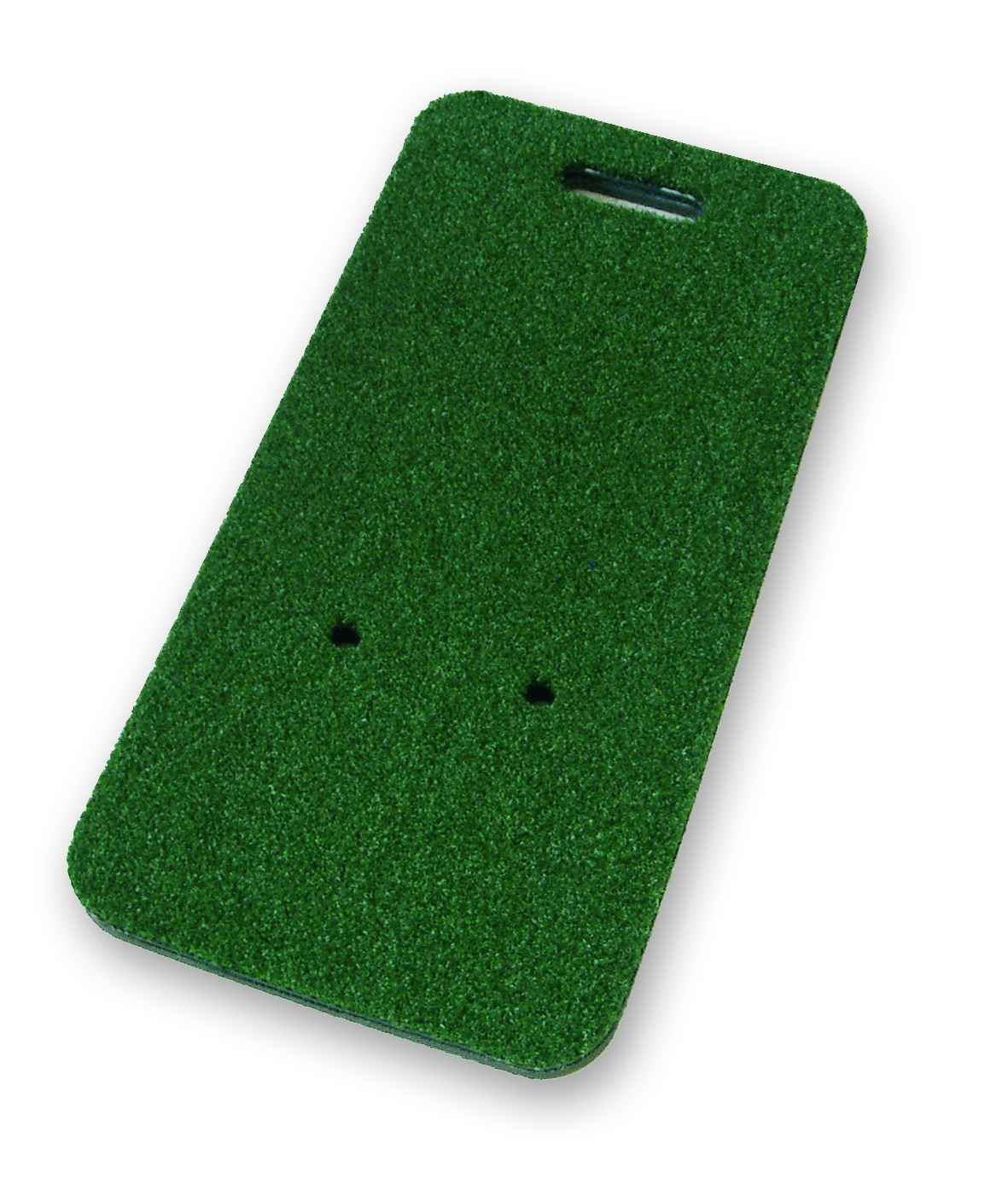 artificial turf mat in green nylon