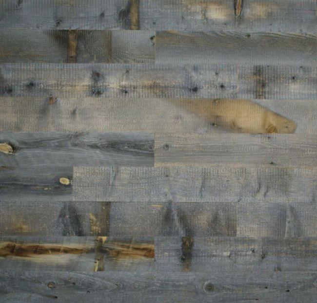 Stikwood Reclaimed Weathered Wood, 40 Square Feet