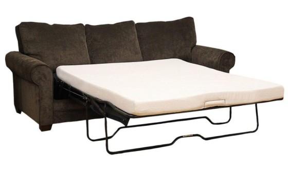 Classic Brands Memory Foam Sofa Mattress, Replacement Sofa Bed Mattress, Queen Size