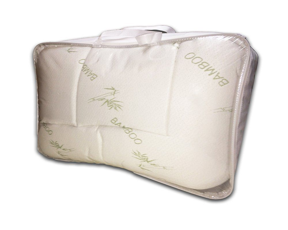 Luxurious Bamboo Fitted Mattress Pad, Snug fit Topper. Extra Plush, Extra Soft (Full)