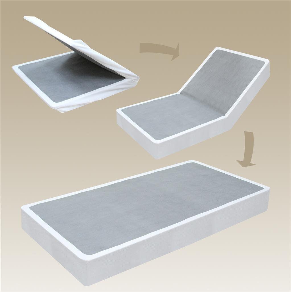 Sleep Master BiFold Box Spring Folding Mattress Foundation, Queen