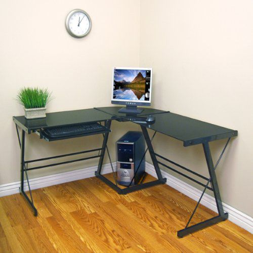 Walker Edison D51B29 Three Desk