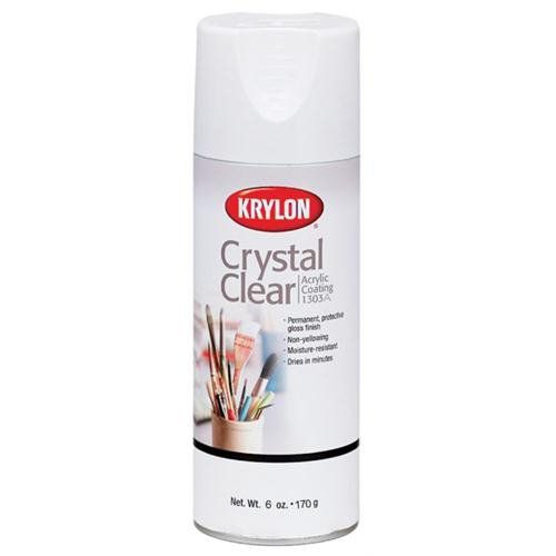 Krylon 6-Ounce Crystal Clear Acrylic Coating Aerosol Spray