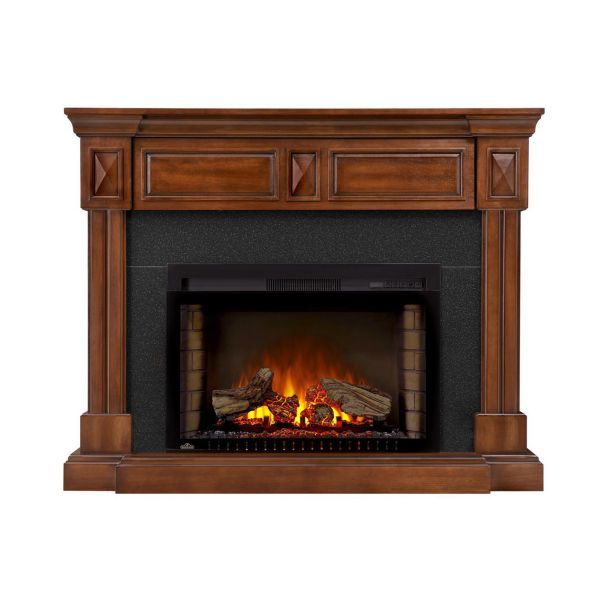 """Napoleon NEFP29-1215BW The Braxton Mantel Package Comes with 29"""" Firebox"""